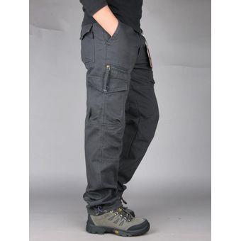Pantalones Casuales De Moda Para Hombre Pantalones Cargo Para Hombre Monos Con Bolsillos Mul Chu Linio Chile Ge018fa0omvhrlacl