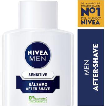 b1c364694 Compra Bálsamo After Shave Sensitive NIVEA MEN 100 ml-Blanco online ...