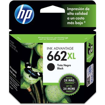 Cartucho HP 662XL-Negro