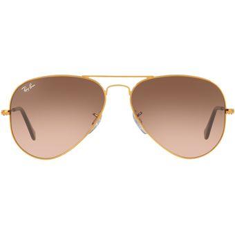 fb9ad4ffd9 Compra Gafas de Sol Ray Ban Aviator 0RB3025 Dorado - Mujer online ...