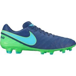 the best attitude 72f2f 2a0f1 Zapatos Fútbol Hombre Nike Tiempo Legacy II FG-Azul