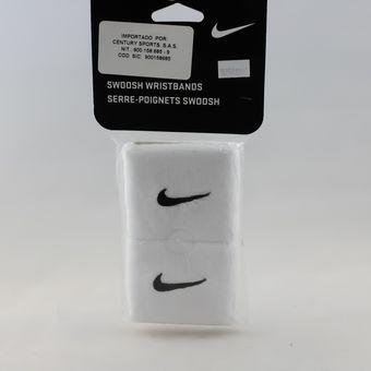 5b7413aa9 Compra Muñequeras Nike Swoosh - Blanco online   Linio Colombia