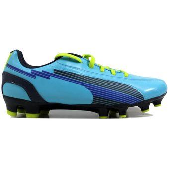 b60475e03 Compra Zapatos de mujer Puma evoSpeed 5 FG 102601 02 Azul online ...