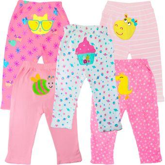 Set X5 Pantalones Para Bebe Nina Glotoncitos Multicolor Linio Colombia Gl007tb1kuybylco