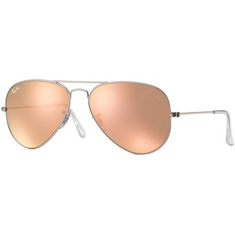 49df74824 ... low price lentes de sol ray ban aviator rb3025 019 z2 plata rosa cobre  brillante 8805d