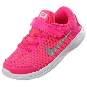 Compra Nike - Zapatillas Niña Flex Run 2016 TDV - Fucsia online ...