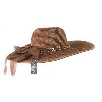 Compra Sombrero Ala Ancha Mujer Kast Store Paja - Marron online ... d2249e995b7