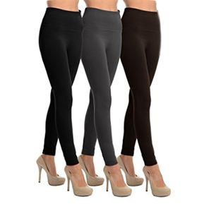 Leggings Pantalon Termico Combo X 3 Negro Gris Cafe 0a39c1d3b9f