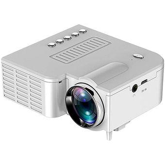 UC28 Proyector portátil Mini proyector 3D Mini proyector de video de la película