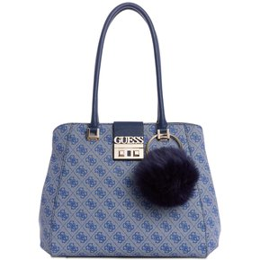 ce0129bf9 Cartera Guess mujer - Logo Luxe Satchel - Azul