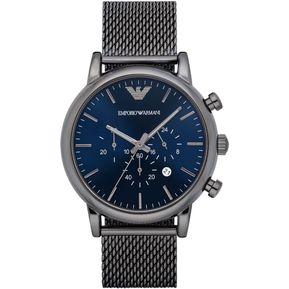 6564d4ad1ab5 Reloj Emporio Armani AR1979 Analógico Hombre - Gris Y Azul