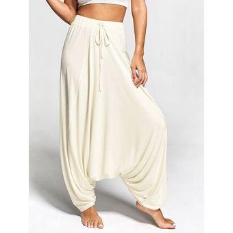 Pantalones Harem Mujer Con Cordon Holgado De Talla Grande Para Fitne Linio Chile Ge018sp0q6anklacl