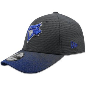 4857341bc5ca2 Gorra New Era 39 Thirty MLB Blue Jays Visor Blur 3 Gris