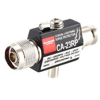 Protector contra sobrecarga de Rayo Coaxial 2.5GHZ 400W con conector N CA-23RP