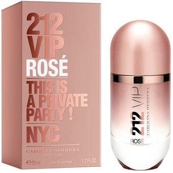 Compra Carolina Herrera Perfume 212 Vip Rose 50 Ml Online