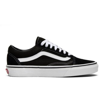 Agotado Tenis Vans Old Skool Blanco   Negro - Hombre Vn000d3hy28 a7c76b2ff48