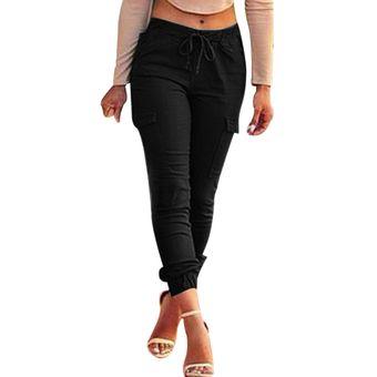 Pantalones Slim Cintura Alta Mujer Negro Linio Mexico Ge598fa138z3klmx