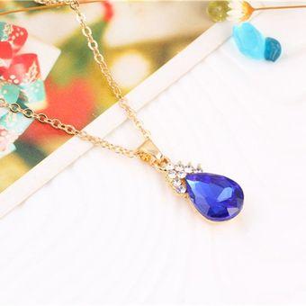 ca926297c18f Compra EY 1 Conjunto de Oro 18K llena Ovalada joyas zirconia cúbico ...