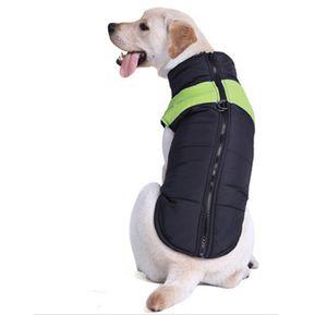 ed181ae46af perro mascota chaleco de algodón Skit traje, Talla: 3XL, pecho: 58cm,