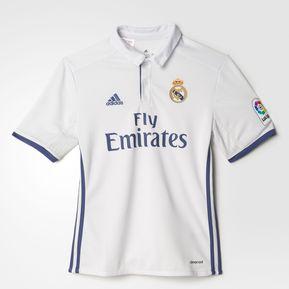 f65b10f58 Jersey Adidas Del Real Madrid Para Niño De Local Blanco