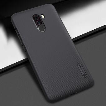 6ea88af20 Nillkin Frosted Cóncavo Convexo Textura PC Caso De Xiaomi Pocophone F1  (negro)