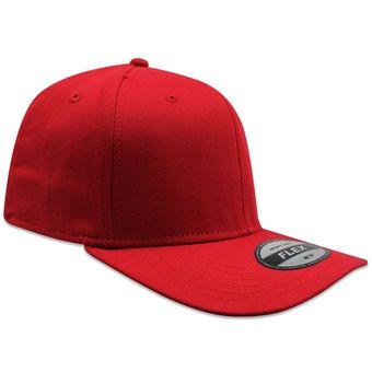 Compra Paquete 12 Gorras Lisa SC Algodón Fifted Flex Rojo online ... 7b112ab90ff