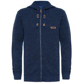 eb729a140cc Chaquetas Hombre Alamo Blend-Pro Hoody Jacket Azul Grisaceo Lippi