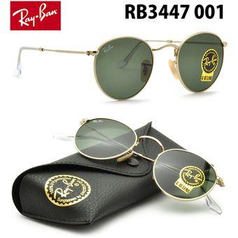 aed7ff7fecaf6 Compra Lentes De Sol Ray Ban Round Metal RB3447 001 Clasico Redondo ...