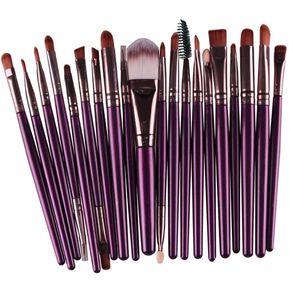 f28bc4df6 Brochas De Maquillaje Set De 20 Brochas