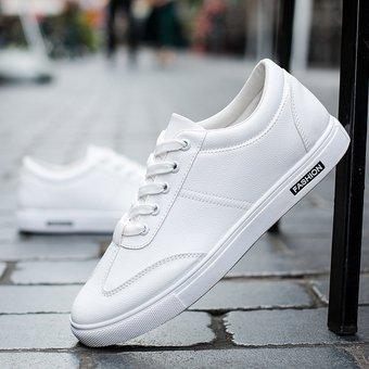 Nuevos Bajos A Casuales Zapatos Ayudar Hombres Blanco Para Pequeños Blancos Impermeables MqSGzVpU
