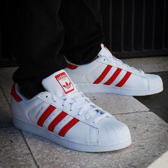 hot sale online 25f61 a0066 Agotado Tenis Adidas Superstar - BZ0191 - Blanco - Hombre