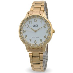 e65e86975719 Reloj Q Q QB09J004Y Para Dama Dorado- Blanco