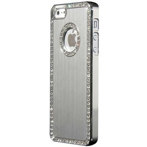 1af11d41bc0 Carcasa Para IPhone 6 Con Incrustaciones De Cristales, Ocean Heart F2-13-7
