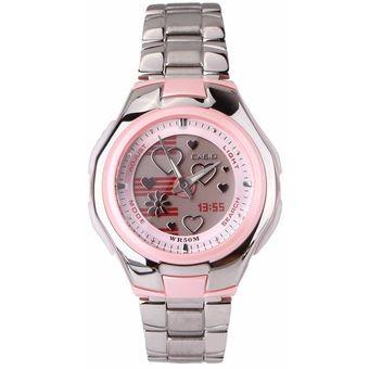 b1fb8eaa6041 Compra Reloj Casio Para Dama LCF-10D4A Rosado Pulso En Acro online ...