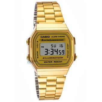 d298bb08a143 Compra Reloj Casio Retro A168WG Digital Acero Unisex - Dorado online ...
