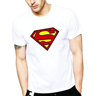 Compra Polo manga corta - D Nuñez - Superman - Blanco online  bfd832c665d2