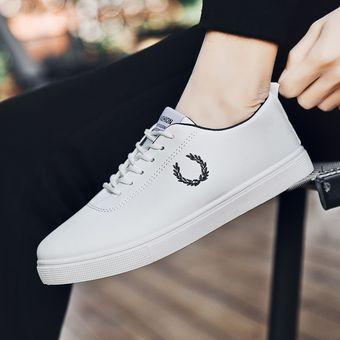 Casual Bajo Nuevos Lienzo Transpirable Zapatos Hombre Corte Altos Blanco De xrBodeC