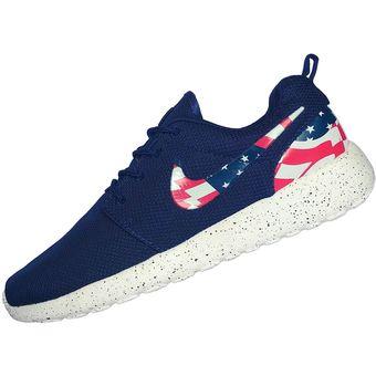 c8f28e61b57dfc Compra Zapatilla Nike Roshe Run Par Hombre - Azul online