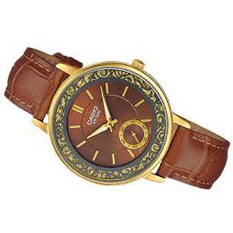 b05634f87101 Compra Reloj Casio LTP-E408GL5A-Marron online