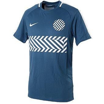 Compra Camisa Deportiva Hombre Nike Dry Academy-Azul online  dd04ce667b3fd