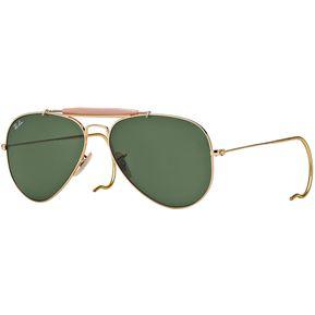 09e850d154 Ray Ban outdoorsman rb 3030 l0216 patilla cable dorado/verde oscuro g15