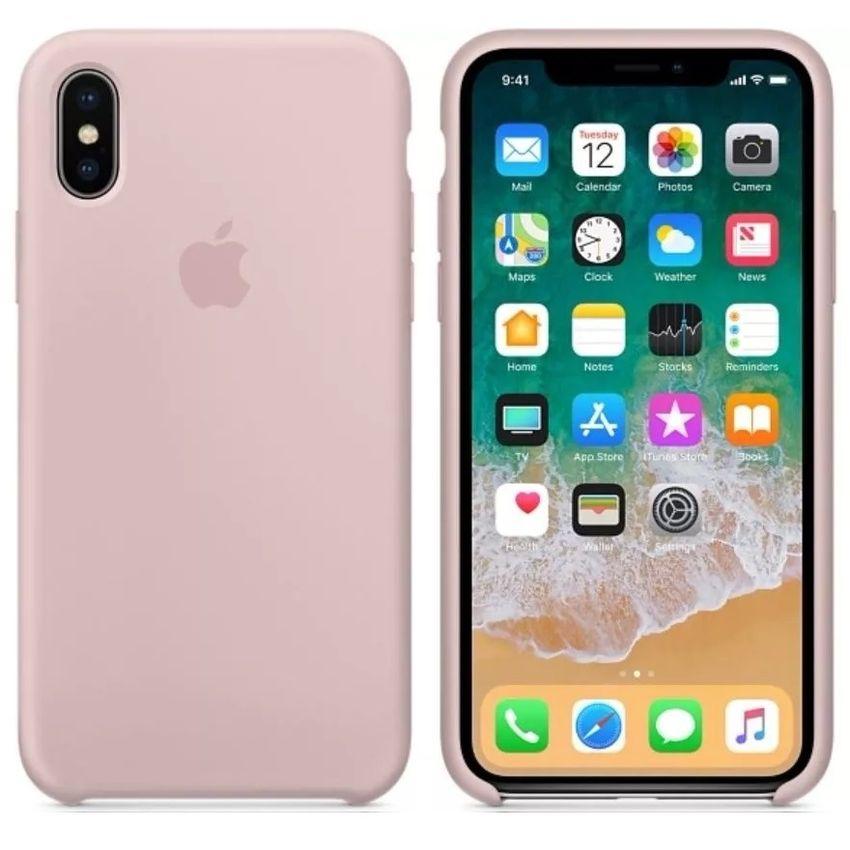 Funda Iphone X XS Apple Original Silicone Case Colores Varios