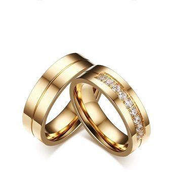 adf910e52470 Aros De Matrimonio. Hombre. JOYAS LUCYANA. Enchapados Oro Amarillo De 18K