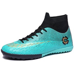 5da14a94 Botines de fútbol Zapatos Fútbol Botas al aire libre-G1 Verde