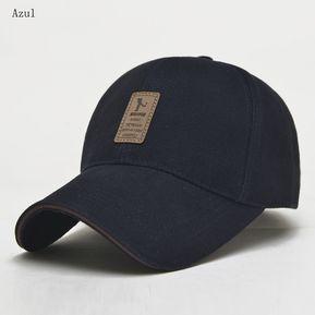 e00e4c6efcc77 Gorras De Béisbol Para Hombres Y Mujer Sombrero De Sol-Azul