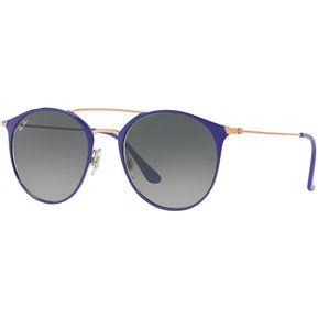 e1f566c5e3 Ray ban round shape rb 3546 9073/a5 violeta/gris degradé