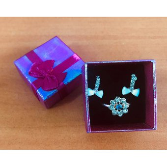 455ad7beaf25 Compra 48 Caja Regalo Estuche Para Joyeria Arete Anillo 4cm online ...