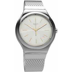 d31e954409b7 Reloj Swatch Mesh-Up YWS419GB Para Caballero-Plateado