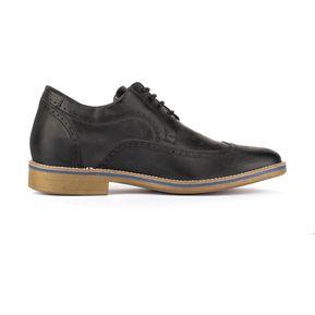 be75cc09ae Zapatos Hombre Oxford Negro +7cms Max Denegri +7cms