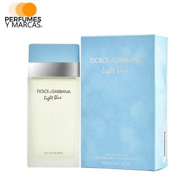 16f5d35dae5 Compra Perfume Light Blue De Dolce   Gabbana Para Mujer 200 Ml ...